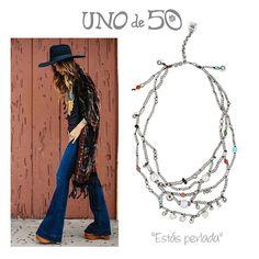 """Estás perlada"", un collar con toque bohemio para tu look de hoy // ""Estás perlada"", such a boho chic necklace for today's outfit."
