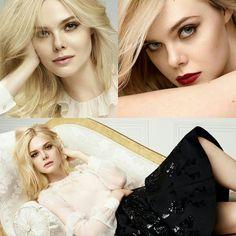 A diva Elle Fanning, muito inspiradora, em campanha para a L'Oréal Paris.⭐ #beautiful #ellefanning #fashion #inspirations #lorealparis #2017