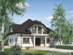 Attic House, Tiny House, Bungalow, Classic House Exterior, Attic Design, Modern House Design, Home Builders, House Plans, Cottage