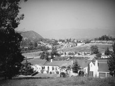 A view from Micheltorena Street in #Silverlake circa 1937! #tbt