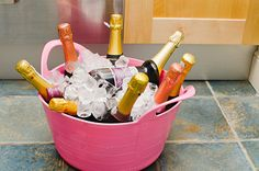 Sophisticated hen parties need to keep the champagne chilled!