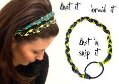 12. Braided Beauty - 13 Lovely DIY Headbands to Make ... → Hair