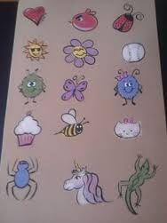 Bildresultat för easy cheek painting ideas for kids