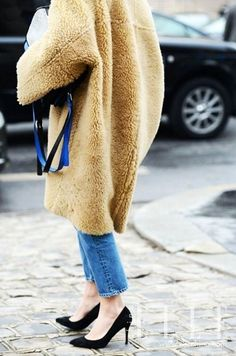 如此有范儿!秋冬牛仔裤的10种最IN穿法