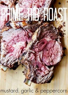 Standing Rib Roast (aka Prime Rib) couldn't be easier or be more ...
