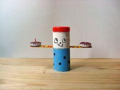 DIY Tea Light Candle Holders using toilet rolls #paper #reuse
