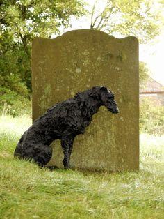 Sally Matthews | Bronze Deerhound - Colva Church Art 2012