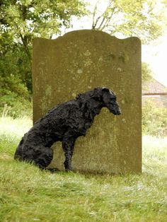 Sally Matthews   Bronze Deerhound - Colva Church Art 2012