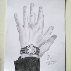 Shawn Mendes drawing hands