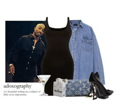 """Going out with pac"" by drakesprincesa ❤ liked on Polyvore featuring Fear of God, Louis Vuitton, Yves Saint Laurent and Nordstrom"