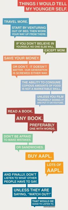 I agree with a few of these.