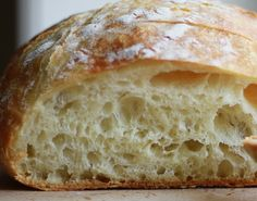"NO Knead Bread....do you think that means this is an ""easy"" bread? I may just have to find out!"