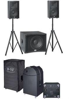 Picture of B52 MATRIX-1000V2, 700W active  speaker system