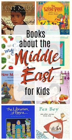 Books about the middle east for grade schoolers will open up a new world of information for your learners. Kids will love learning about the people and cultures in Iraq, Afghanistan, Iran, Israel, and more! Try some of these books today. Middle East Culture, Preschool Books, Kids Reading, Guided Reading, Chapter Books, Library Books, Class Library, Children's Literature, Read Aloud