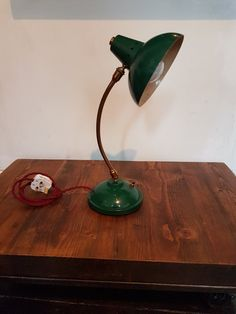 Found it at wayfair ekelund desk lamp as extra light green mid century desk lamp rewired keyboard keysfo Images