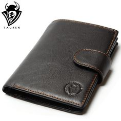 Retro Practical Oil Waxing Leather Travel Wallet Cowhide Genuine Thickening Vintage Men Men's Purse Passport Wallets  -- View the item in details by clicking the image