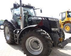 Black edition of MasseyFerguson #tractor! Other models of Massey Ferguson #tractors at http://www.agriaffaires.co.uk/used/farm-tractor/1/4044/massey-ferguson.html