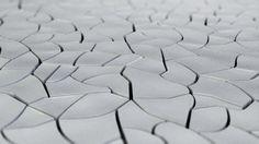 Concrete paving tile for exterior floors - CRACKED EARTH - kaza concrete