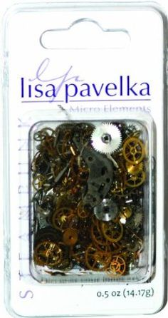Amazon.com: Lisa Pavelka 1/2-Ounce Watch Parts for Crafting, Silver, Brass, Copper, Black and Steam Punk: Arts, Crafts & Sewing