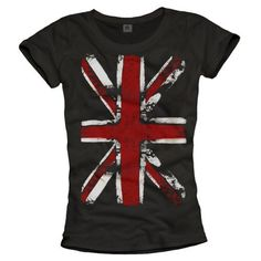 T-Shirt Drapeau Anglais Femme UNION JACK Vintage Noir S M L Makaya, http://www.amazon.fr/dp/B008FNZJB4/ref=cm_sw_r_pi_dp_ZToBsb1R7VEM0