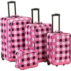 Fox Luggage F106-PINK DOT 4Pc Pinkdot Luggage Set Rockland Fox Luggage,http://www.amazon.com/dp/B005UZJK9M/ref=cm_sw_r_pi_dp_EKwctb1VZH6PXEN7