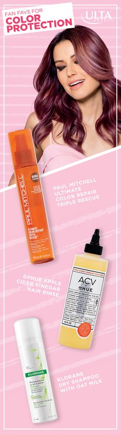 Colored hair needs a little extra attention. But as we all know, it's well worth it! At Ulta Beauty, you can find all the right products to keep your color protected and staying vibrant.