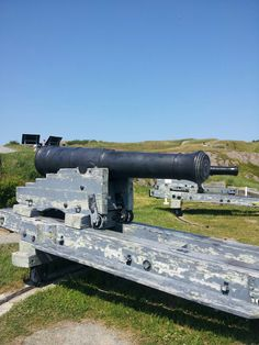 32 Pounder Cannon, Queen's Battery, Signal Hill, St. John's, Nl., Canada
