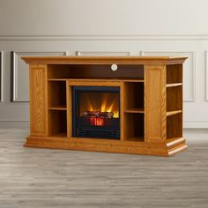 """Found it at Wayfair - Portland 50"""" TV Stand with Electric Fireplace"""