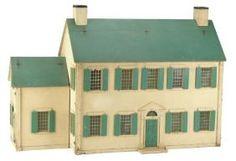 Tynie Toy New England Townhouse  Rick Maccione-Dollhouse Builder www.dollhousemansions.com