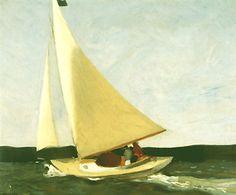 Sailing  1911  Edward Hopper