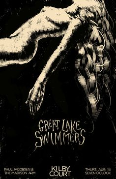 Great Lake Swimmers poster at Kilby Court