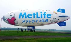 Snoopy J Blimp New design