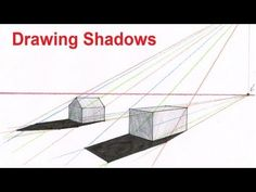 How To Draw Perspective Shadow   Drawing Shadows In Perspective
