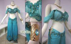 Disney Princess Jasmine Costume by *Lillyxandra on deviantART