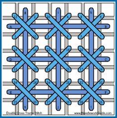Double Cross Trame Stitch