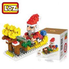 LOZ 180Pcs M - 9125 Santa Clause Building Block Educational DIY Toy 47% Off