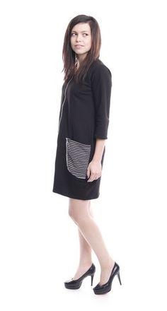sukienka big black pocket