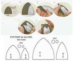 Owl pattern: Quilted family tree