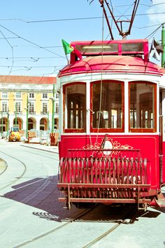 Visiting Lisbon, old town in the famouse nr 28 tram # Portugal