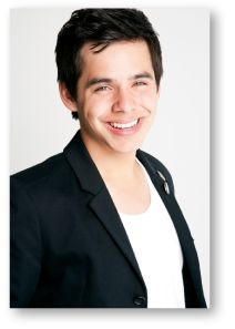 """ChildFund partnered with David Archuleta during his """"My Kind of Christmas Tour"""" during December 2011."""