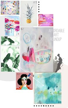 Affordable Art Roundup
