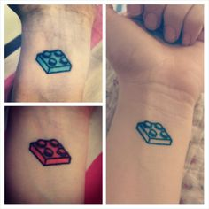 my lego tattoo geek - july 2013