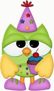 Cupcake owl