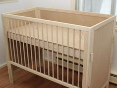 DIY crib with plans - Baby Cribs , DIY crib with plans DIY crib with plans Baby crib diy. Wooden Baby Crib, Baby Crib Diy, Wooden Cribs, Baby Nursery Diy, Baby Cribs, Budget Nursery, Nursery Ideas, Nursery Decor, Woodworking Store