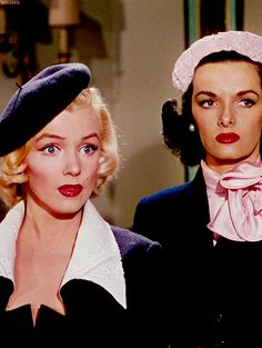 Gentlemen Prefer Blondes - 1953 Marilyn Monroe and Jane Russell