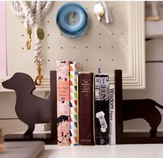 So cute winer dog book ends by pbteen