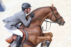 Shanghai 2015 - Ludger Beerbaum on Zinedine - LONGINES GLOBAL CHAMPIONS TOUR