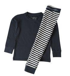 schlafanzug 2-teilig bei heldenkind in blau
