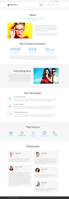 #AboutUsPage of #Monstroid #WooCommerce #theme for a successful #eCommerce project: http://www.templatemonster.com/wordpress-themes/monstroid/?utm_source=pinterest&utm_medium=timeline&utm_campaign=buymonstr