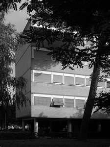 V. Cafiero, A. Libera, A. Luccichenti, V. Monaco, L. Moretti; Villaggio Olimpico, 1957-60, Roma.